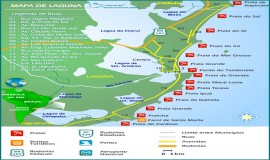 Mapa de Laguna