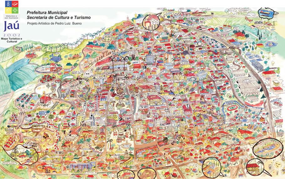 Mapa De Ja 250 Ello Turismo Amp Viagens